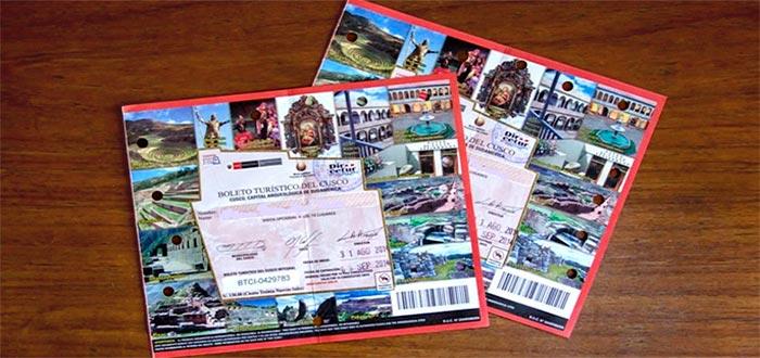 boleto Turístico General o completo (BTG)