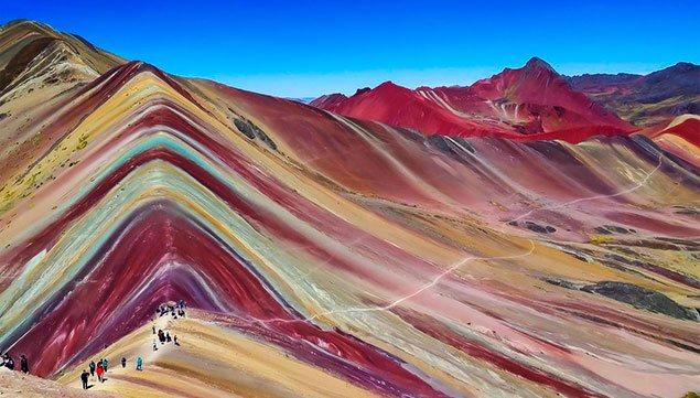 Cerro colorado en Cusco