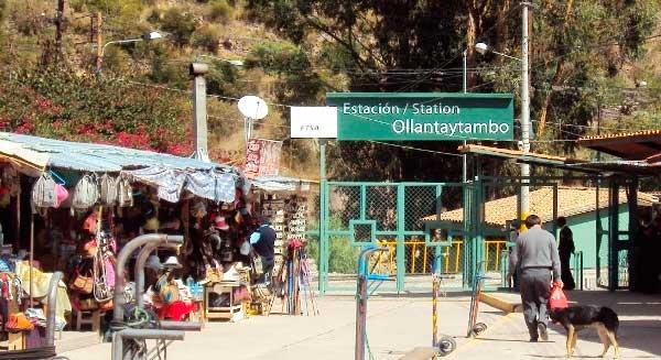 Estación de Ollantaytambo