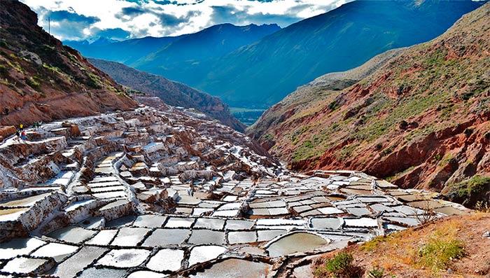 Salineras - Minas de sal en Maras