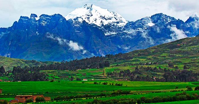 Nevado en el Valle Sagrado