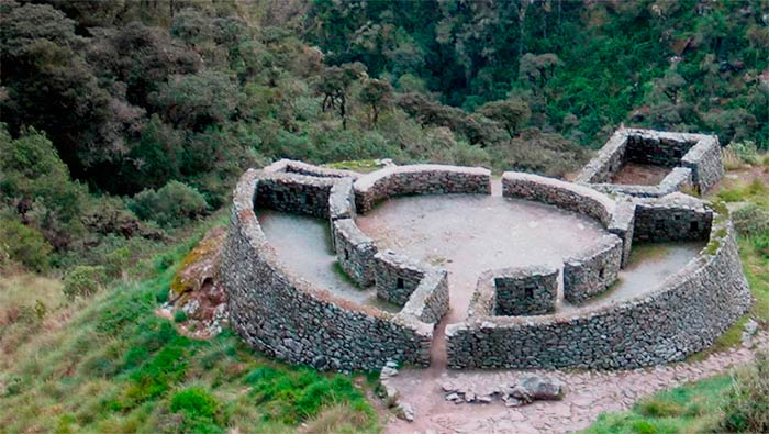 Centro arqueológico de Runcuracay