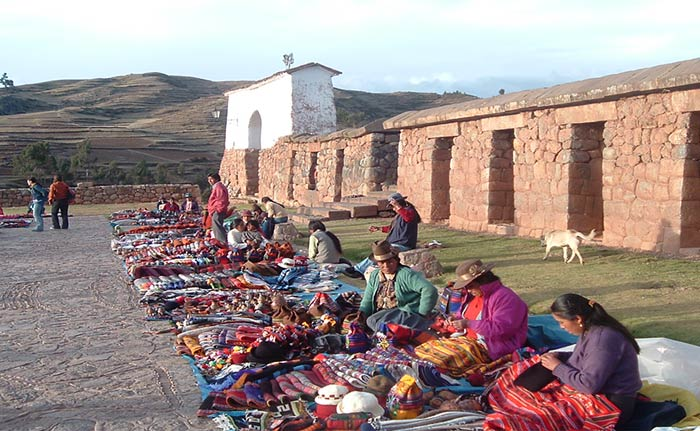 Chinchero - Tejidos Incas