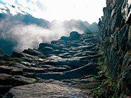 camino inca en Peru