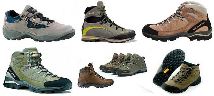 Zapatos de trekking a machu picchu